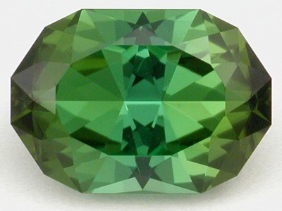 faceted tourmaline gemstone