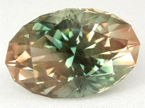 faceted oregon sunstone dichroic
