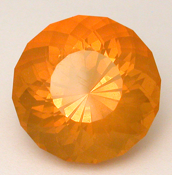 fire opal from juniper ridge mine