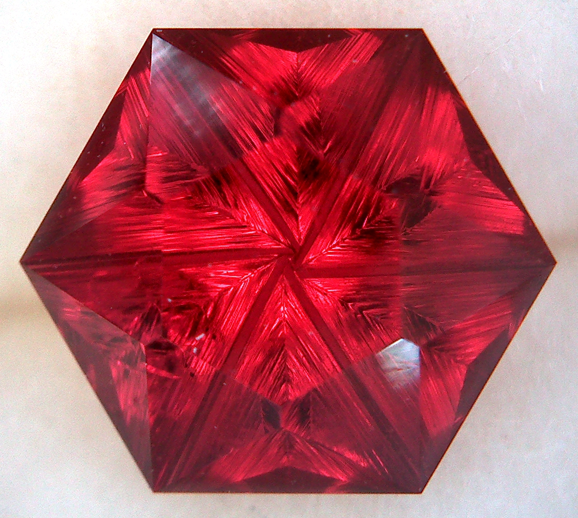 Fantasy Cut Garnet The Gemstone Artistthe Gemstone Artist